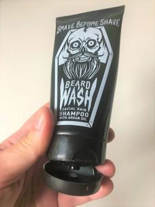 grave before shave beard wash review